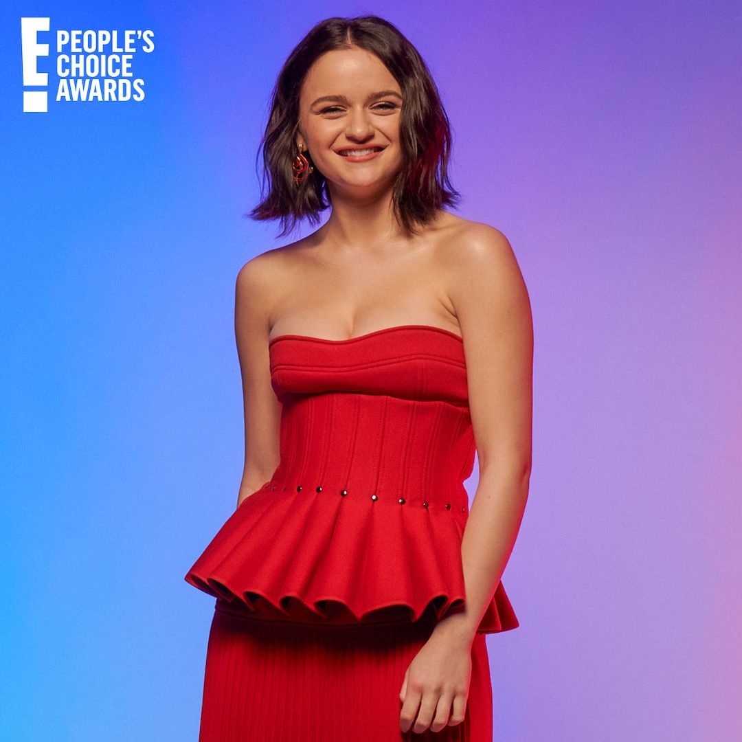 Joey King Reveals Her Quirky Quarantine Project at the People's Choice Awards