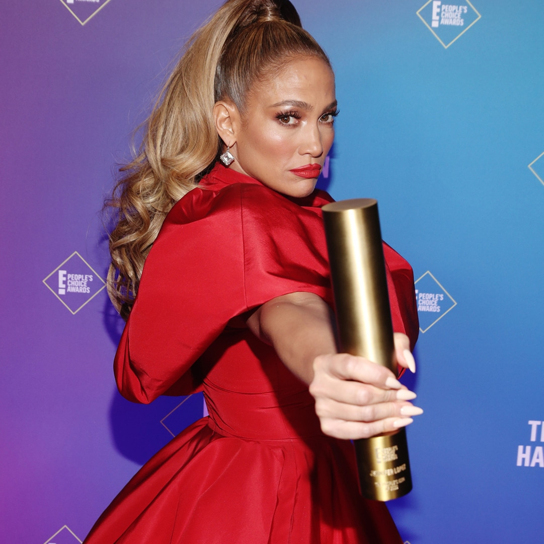 Why Jennifer Lopez Feels Her 2020 People's Choice Icon Trophy Is the