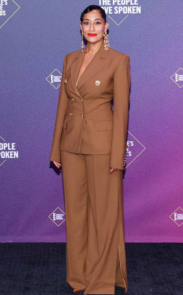 Tracee Ellis Ross, 2020 People's Choice Awards, PCAs, Red Carpet Fashions