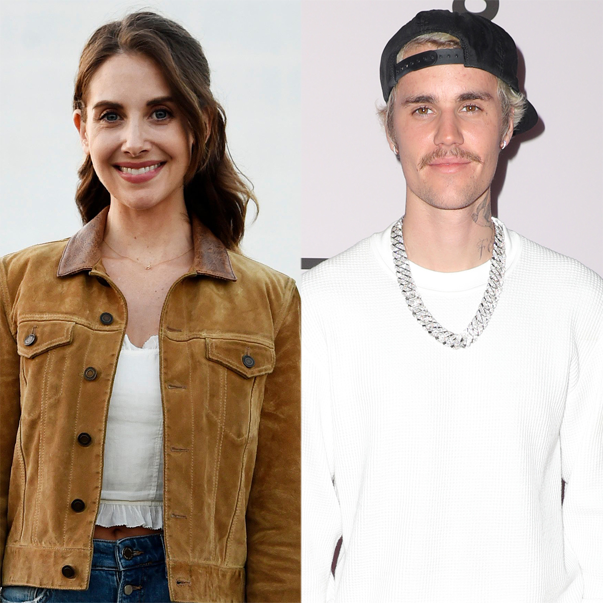 Alison Brie Hilariously Recalls Seeing Justin Bieber in an Italian Pool Singing About Pasta