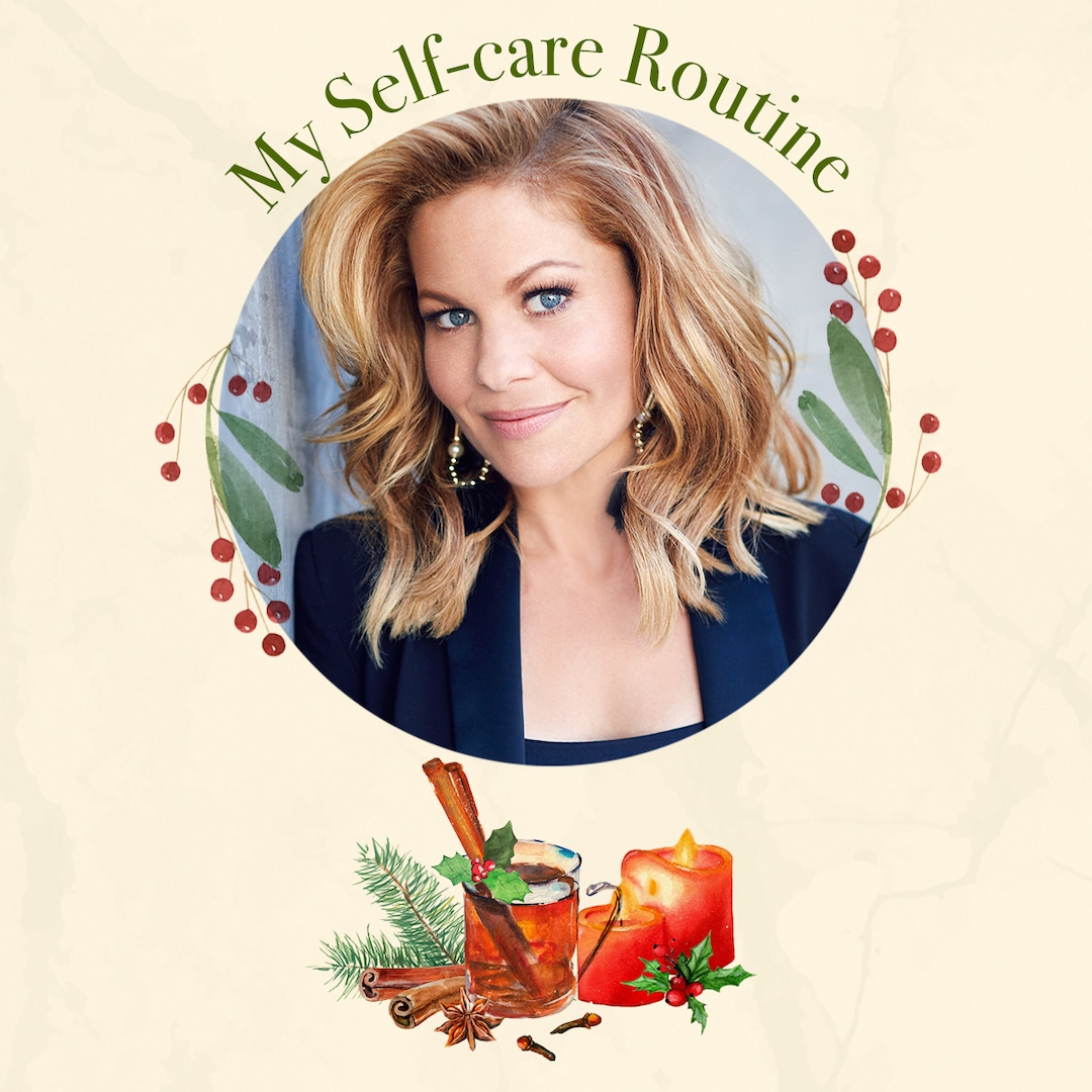 The Queen of Christmas Candace Cameron Bure Shares Her Holiday Self-Care Routine