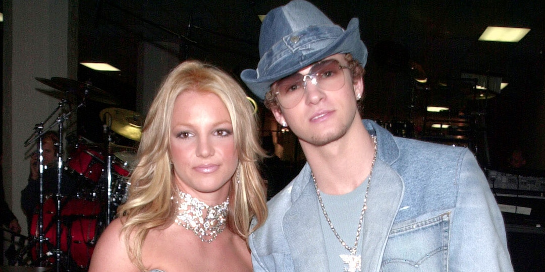Justin Timberlake Reacts to the Internet's Obsession With His and Britney Spears' Icon Denim Looks - E! Online.jpg