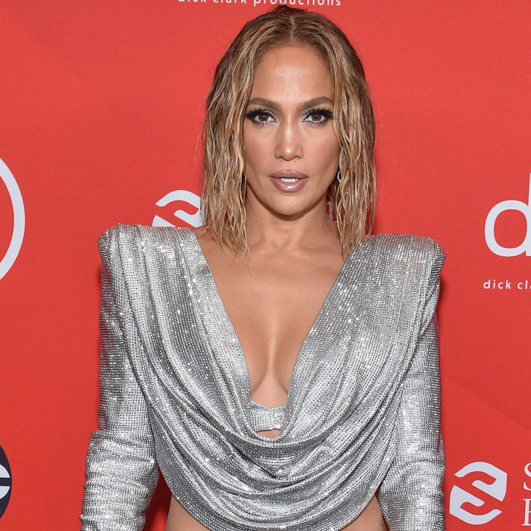 Jennifer Lopez Wears the Most Sparkly Outfit Ever at the Vax Live Concert Special