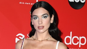 Dua Lipa, 2020 American Music Awards, AMAs, red carpet fashions