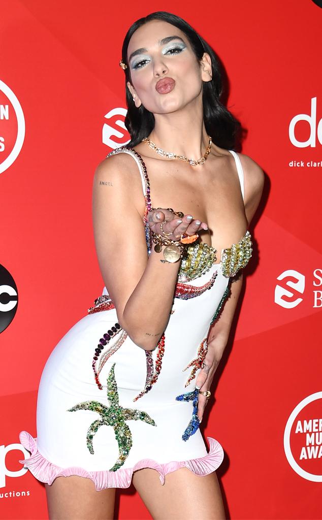 Dua Lipa, 2020 American Music Awards, AMAs, Candids
