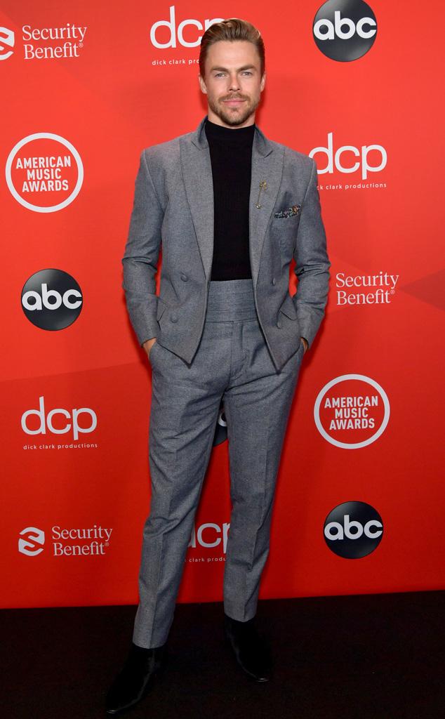 Derek Hough, 2020 American Music Awards, AMAs, Candids