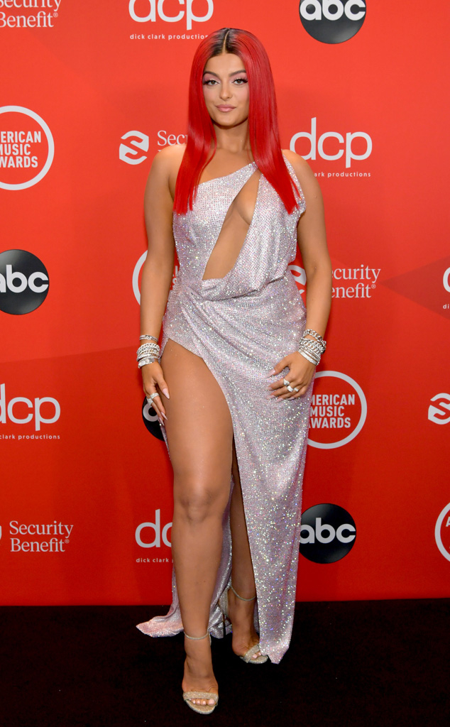 Bebe Rexha, 2020 American Music Awards, AMAs, Red Carpet Fashions