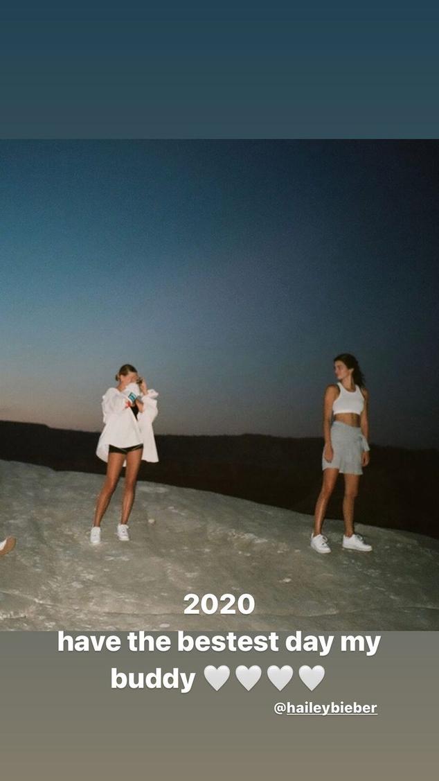 Hailey Baldwin y Kendall Jenner