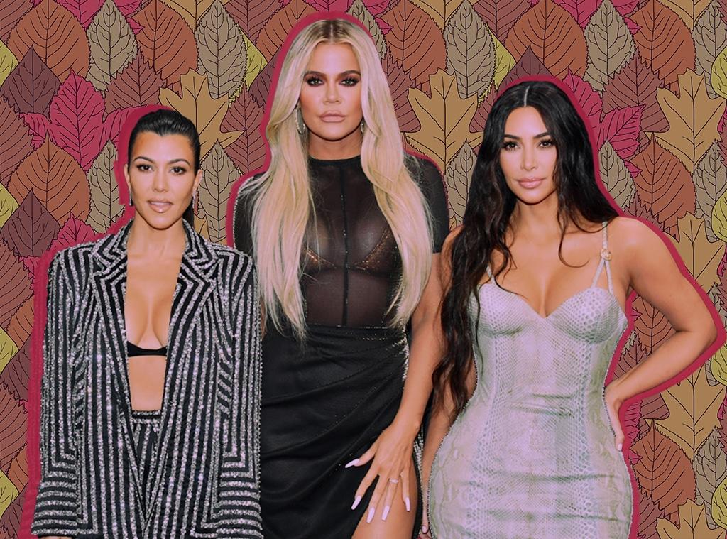 Kourtney Kardashian, Khloe Kardashian, Kim Kardashian, Thanksgiving