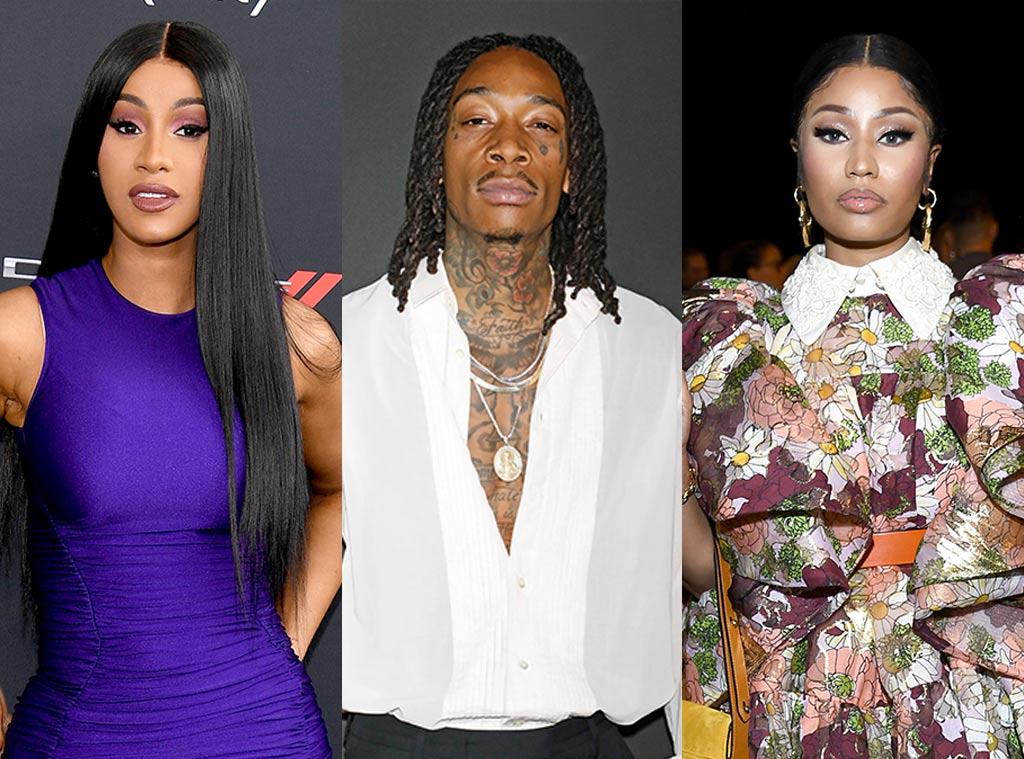 Cardi B, Wiz Khalifa, Nicki Minaj
