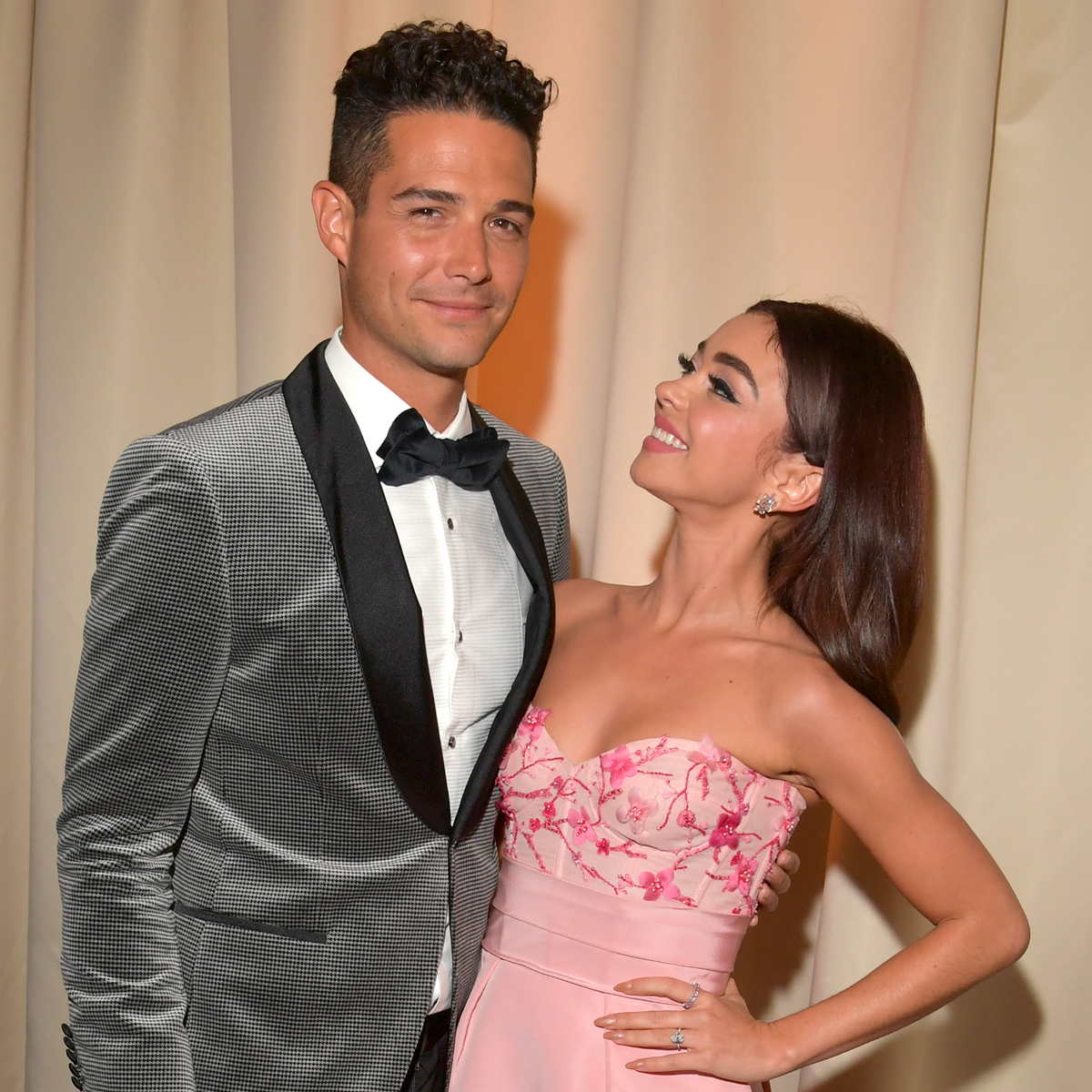 Wells Adams' 30th Birthday Tribute to Fiancée Sarah Hyland Is Hilariously Thirsty