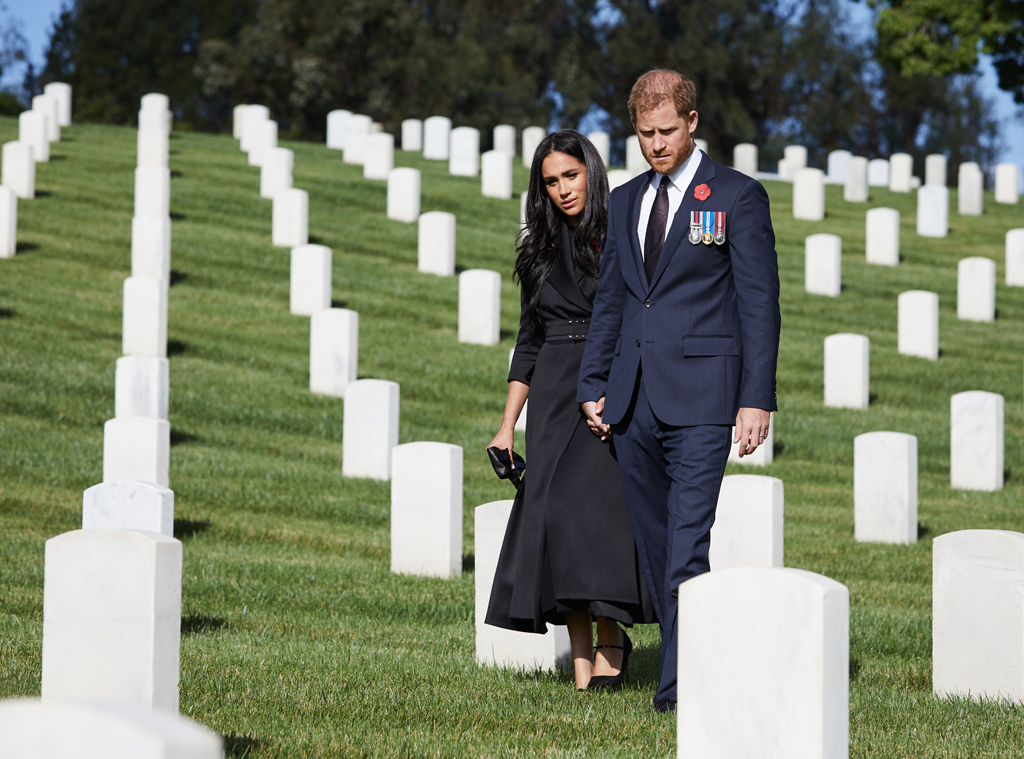 Prince Harry, Megan Markle, Honoring Remembrance Day