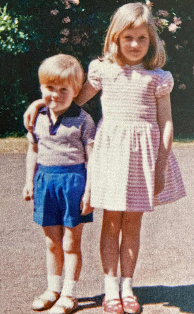 Lady Diana With Brother Charles Spencer