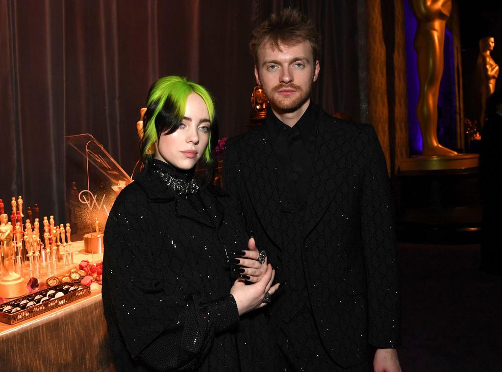 Billie Eilish, Finneas O'Connell, 2020 Oscar Party, Inside