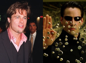 Brad Pitt, Keanu Reeves, The Matrix, Iconic roles Brad Pitt almost played