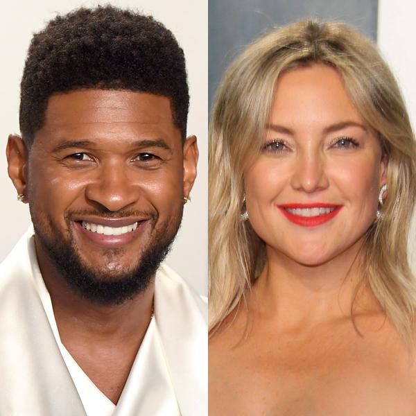 See Usher Checking Out Kate Hudson at Vanity Fair Oscar Party