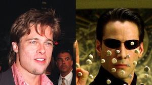 Brad Pitt, Keanu Reeves, The Matrix, Iconic roles Brad Pitt almost played