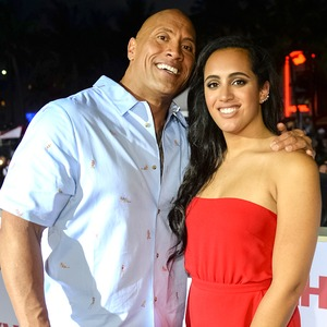Dwayne Johnson, The Rock, Daughter Simone Johnson