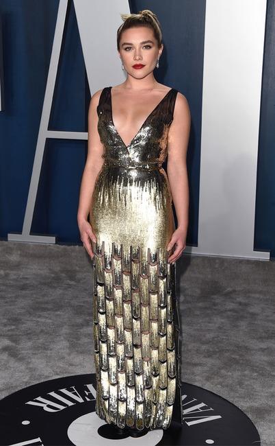 Florence Pugh, 2020 Vanity Fair Oscar Party