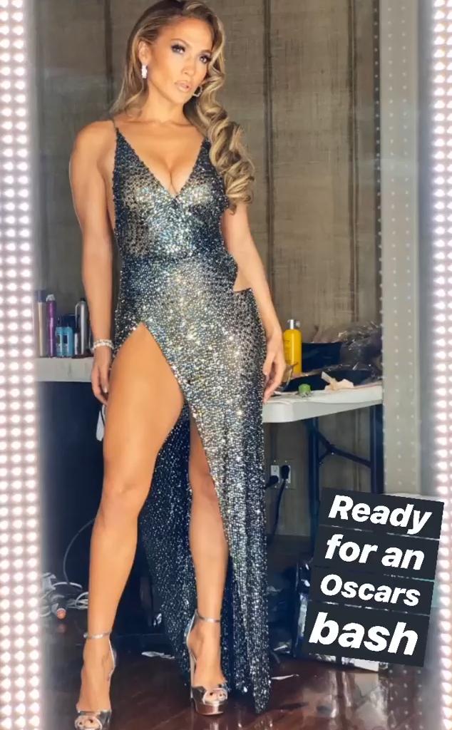 Jennifer Lopez, 2020 Oscars, Instagram