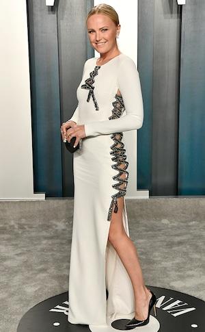 Malin Akerman, Vanity Fair Oscars After-Party Arrivals