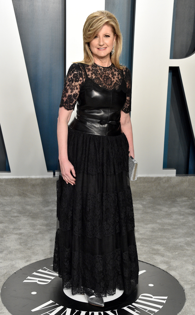 Arianna Huffington, Vanity Fair Oscars After-Party Arrivals