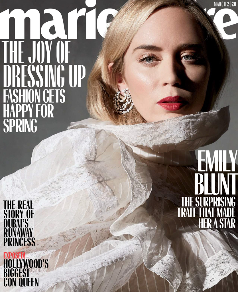Emily Blunt, Marie Claire