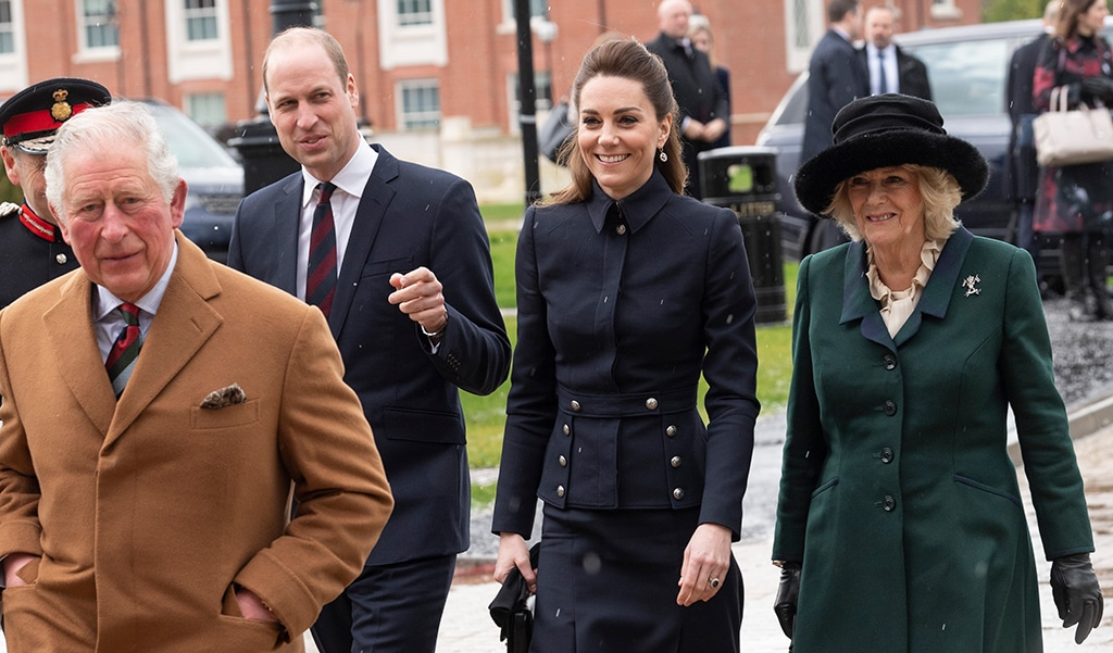 Prince Charles, Prince William, Kate Middleton, Camilla