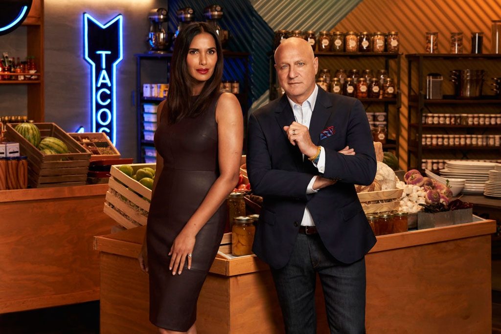 Top Chef All Stars L.A., Padma Lakshmi, Tom Cholicchio