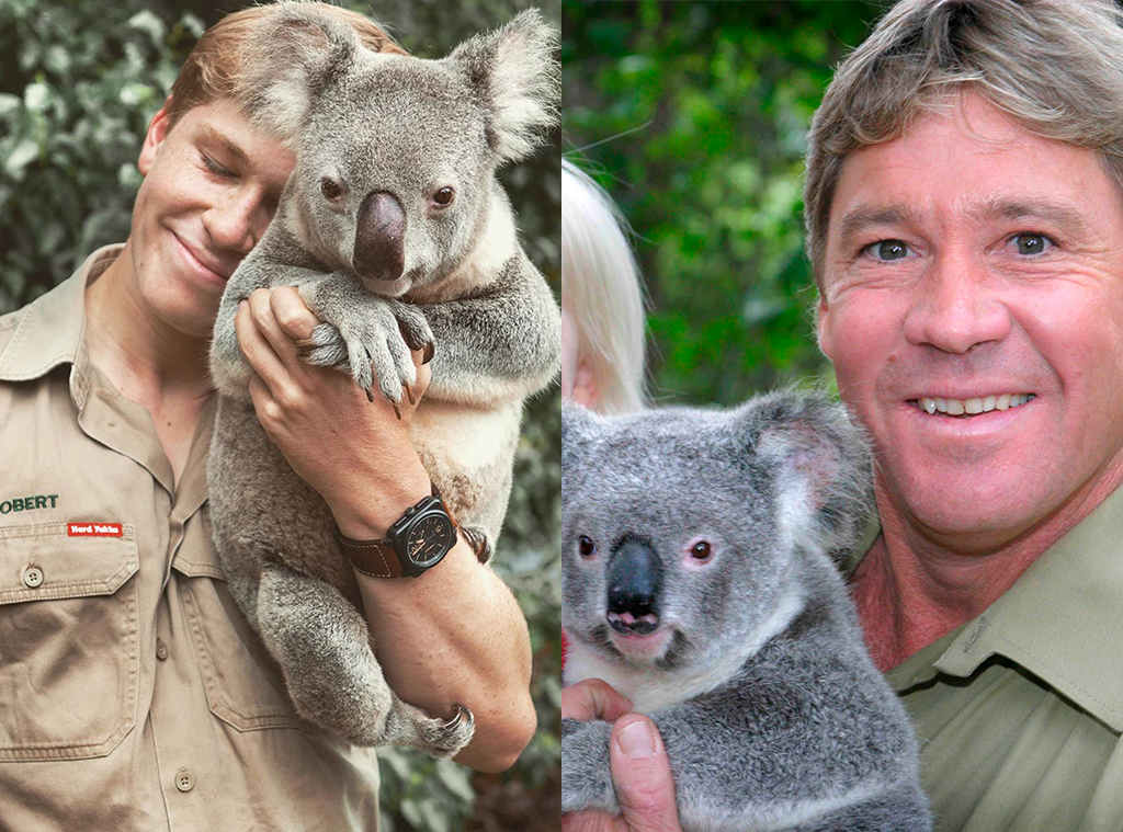 This Photo Of Steve Irwin S Son Robert Will Make You Do A Double Take E Online