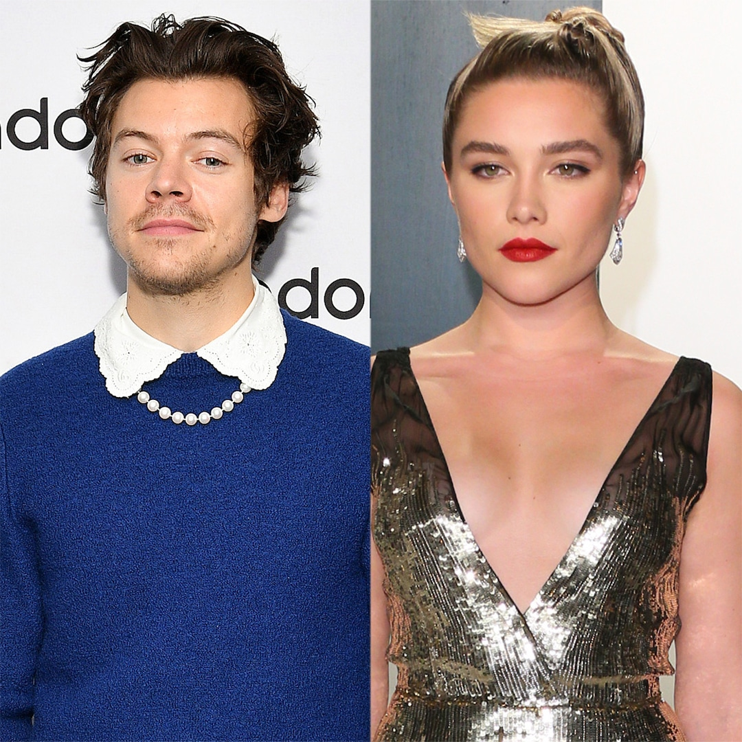 See Harry Styles and Florence Pugh's Steamy Makeout Session in Olivia Wilde's Don't Worry Darling – E! Online