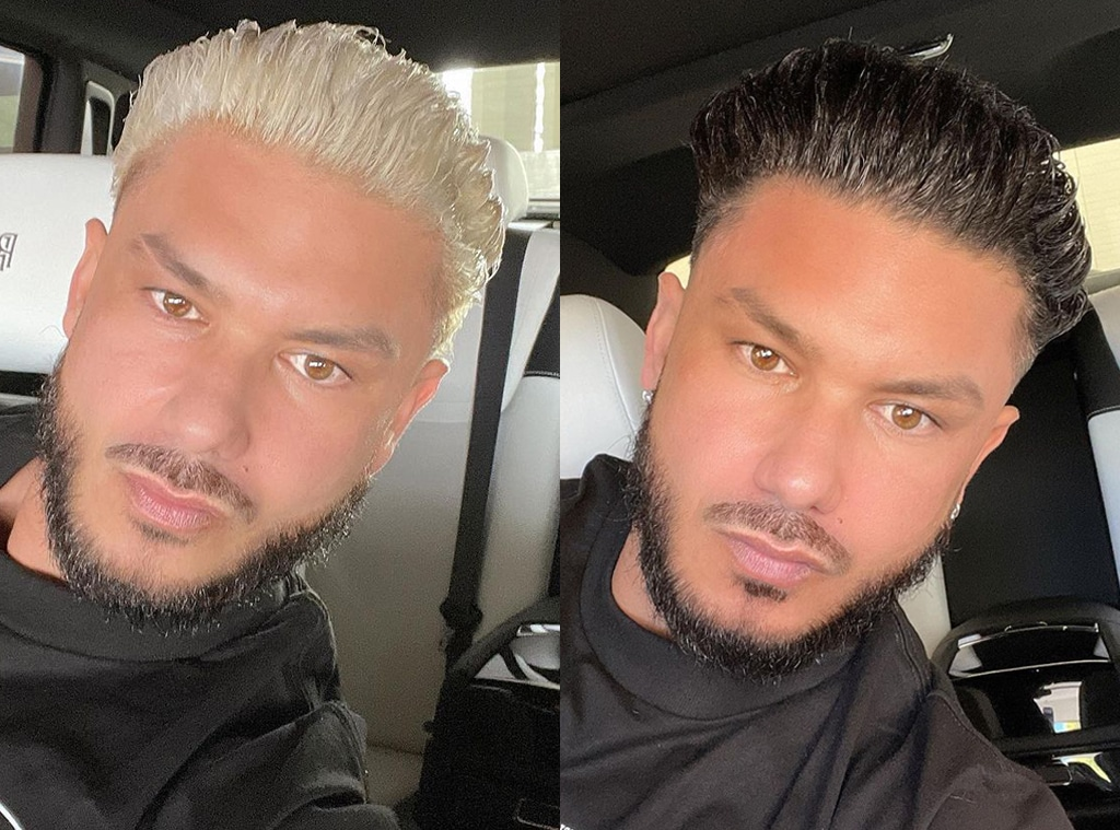 Jersey Shores Pauly D Goes Blonde: See His Jaw-Dropping