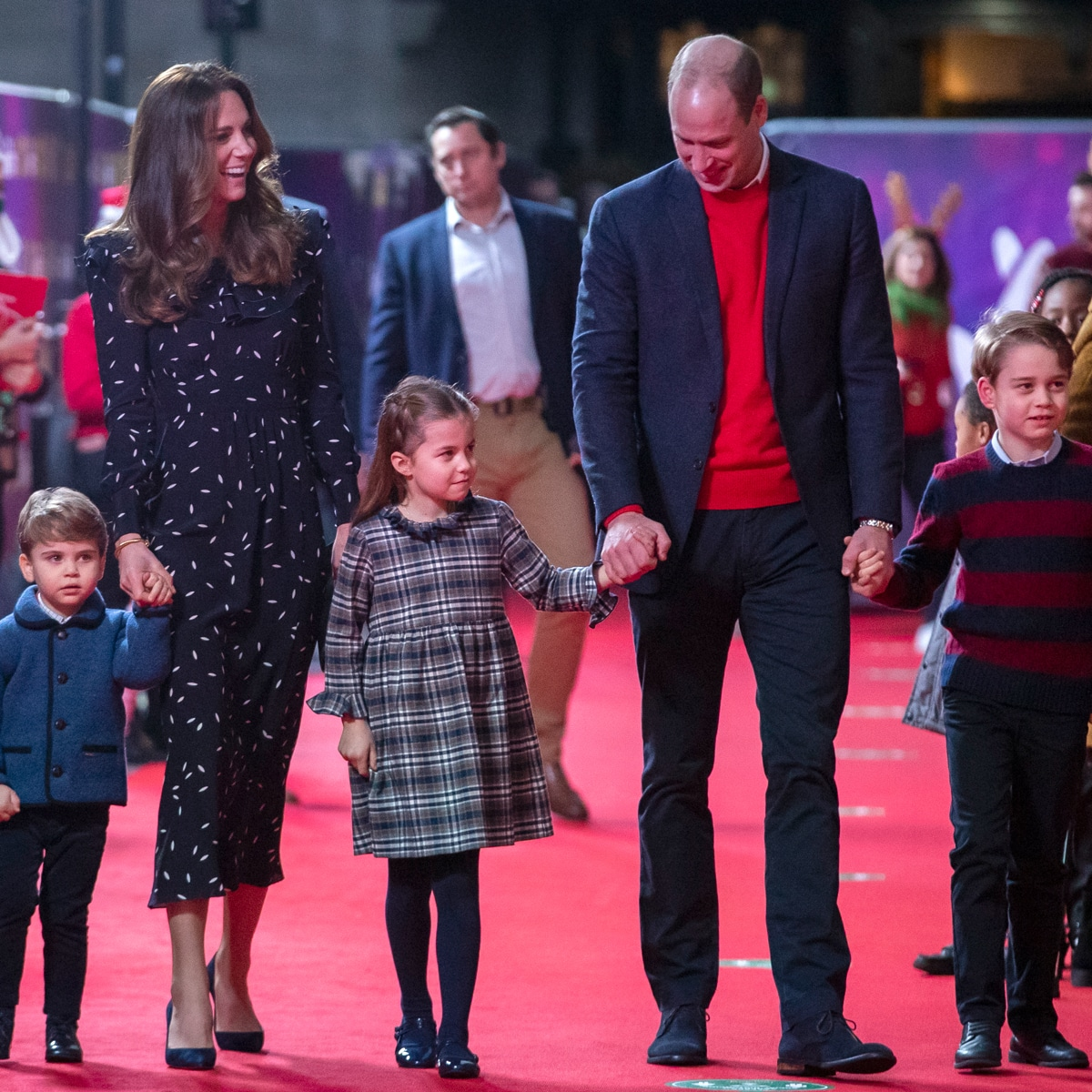 Kate Middleton Christmas Card 2021