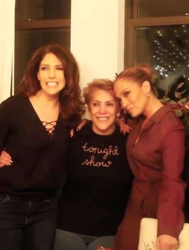 Watch Jennifer Lopez Surprise Her Mom With a 75th Birthday Party - E! Online
