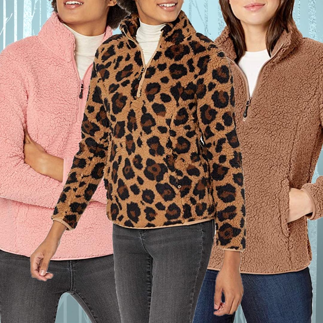 This $25 Sherpa Jacket Has 857 5-Star Amazon Reviews