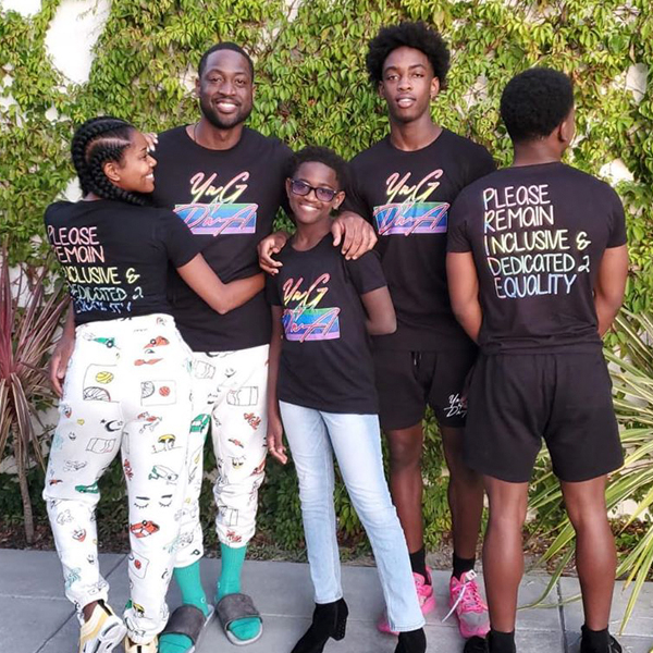 Dwyane Wade Struggled With Decision to Share Transgender Teen's Story