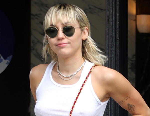 Miley Cyrus Heats Up Fashion Week With Her Daring Red Leather Look