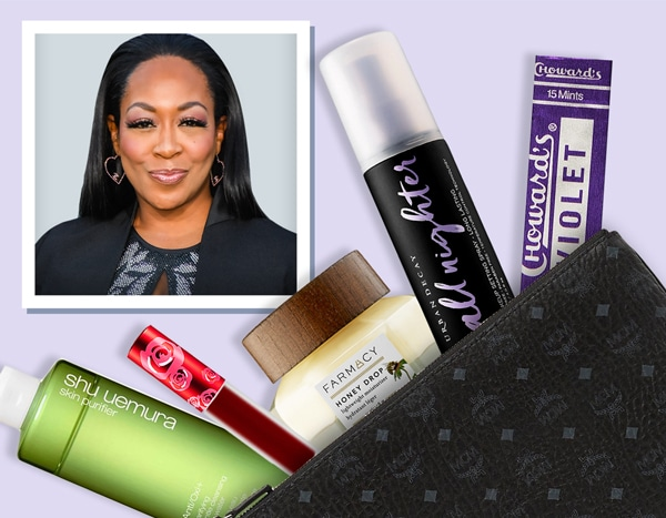 The Neighborhood's Tichina Arnold Reveals What's in Her Beauty Bag