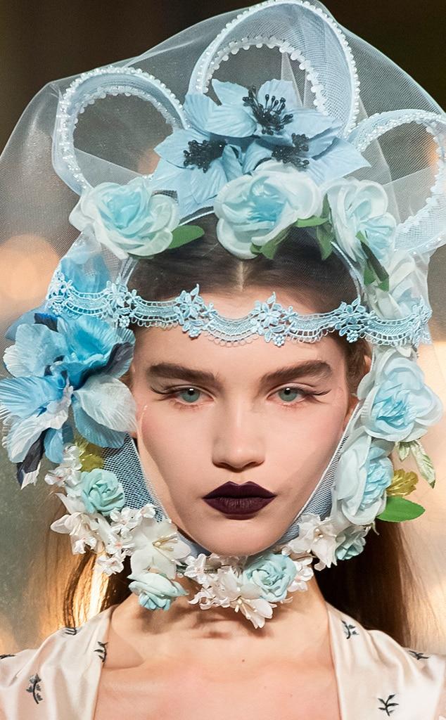 Best Beauty Looks at Fashion Week, Rodarte
