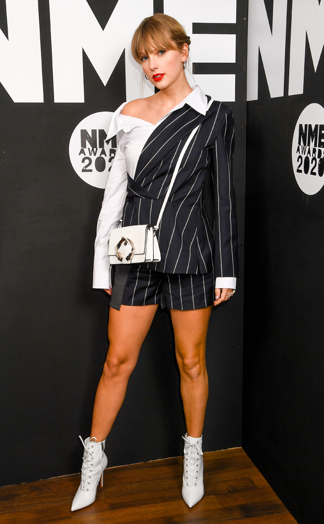 Taylor Swift Makes Surprise Appearance at 2020 NME Awards ...