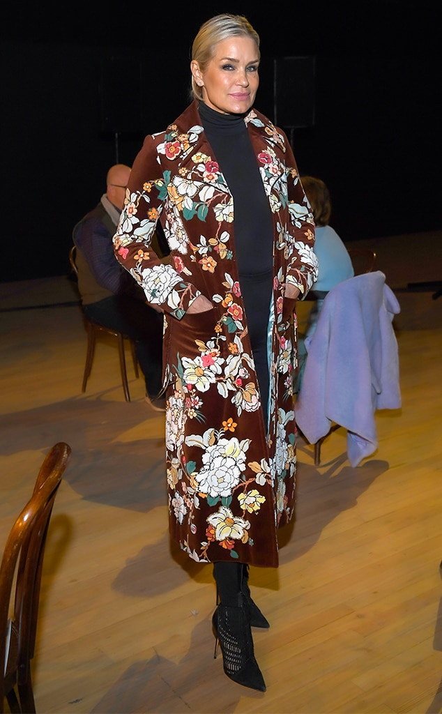 Yolanda Hadid, 2020 Fashion Week, Marc Jacobs