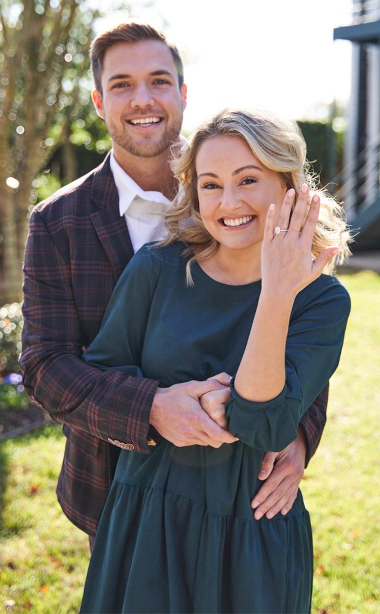 Jordan Kimball, Christina Creedon, engagement, proposal