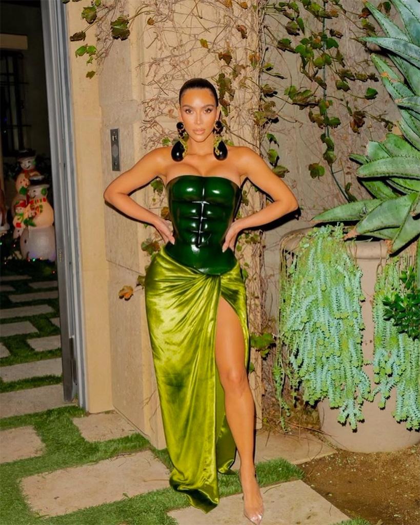 Kim Kardashian, Christmas 2020