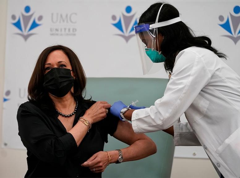 Kamala Harris, COVID-19 Vaccine, Vaccine