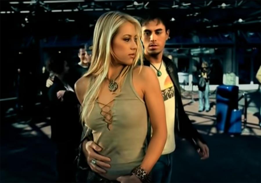 Enrique Iglesias, Anna Kournikova, Escape, Music Video
