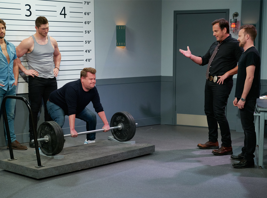 James Corden, Will Arnett, Aaron Paul, The Late Late Show 2020