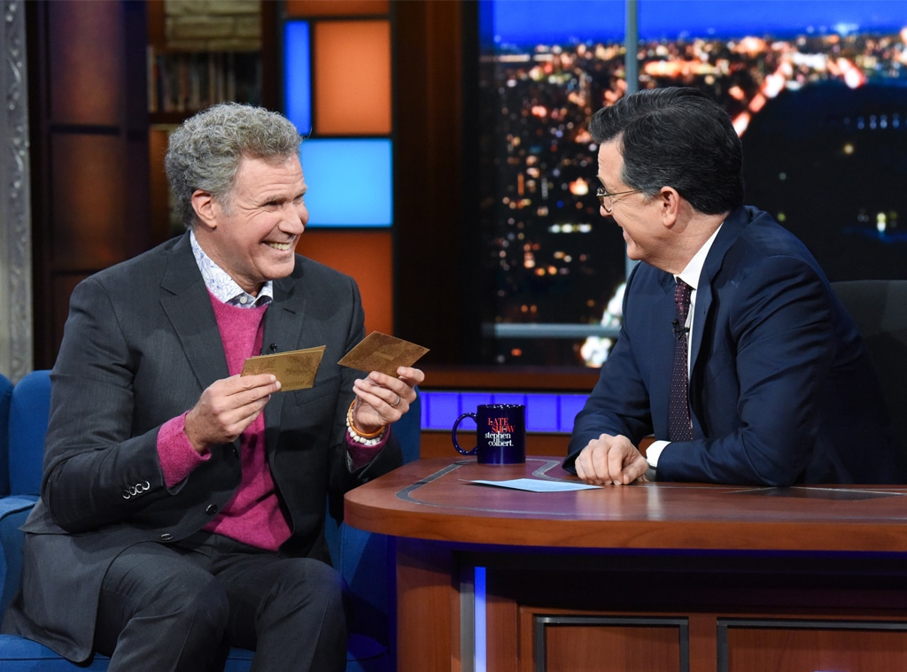 Will Ferrell, Late Show