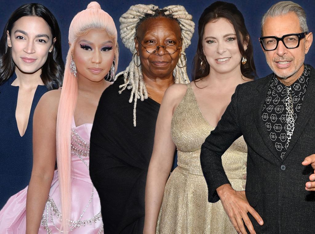 Alexandria Ocasio-Cortez, Nicki Minaj, Whoopi Goldberg, Rachel Bloom, Jeff Goldblum - RuPaul's Drag Race