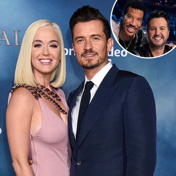 Katy Perry, Orlando Bloom, Lionel Richie, Luke Bryan