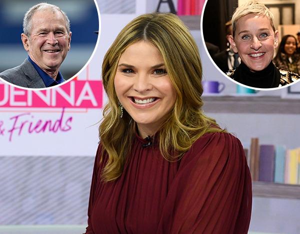 Jenna Bush Hager Addresses Controversy Surrounding Dad George W. Bush and Ellen DeGeneres
